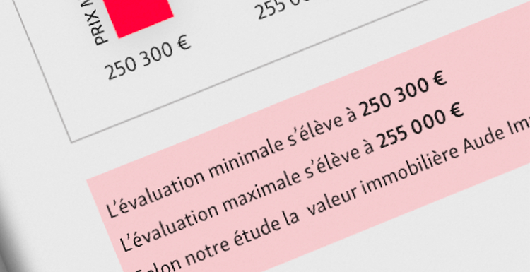 Estimation immobilier
